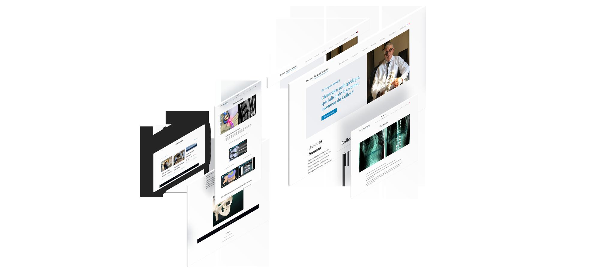 Docteur Jacques Samani Un site développé par BobandCo