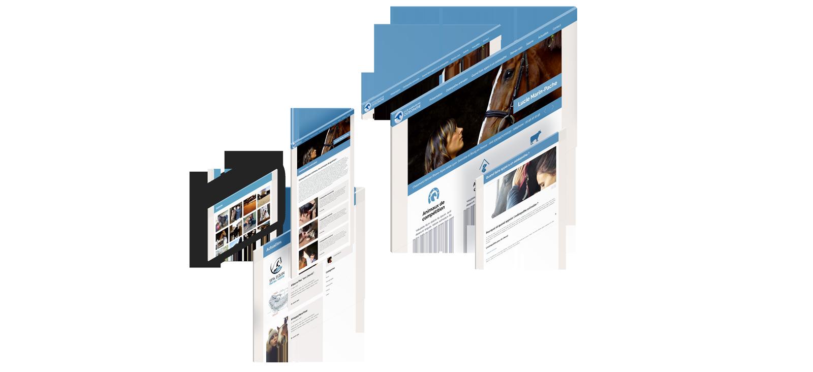 Lucie Marin Pache Un site développé par BobandCo