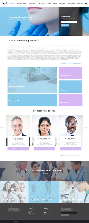 Association Française de Chirurgie Endocrinienne Un site développé par BobandCo