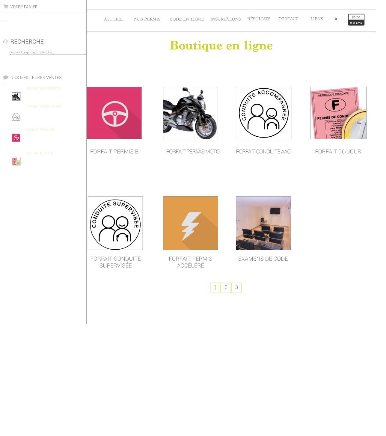Autozen Un site développé par BobandCo