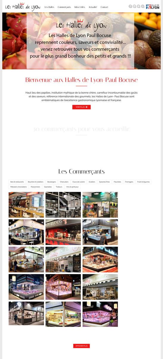 Halles de Lyon Paul Bocuse Un site développé par BobandCo