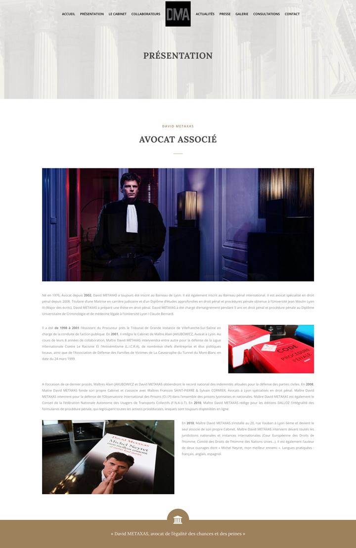David Metaxas Un site développé par BobandCo