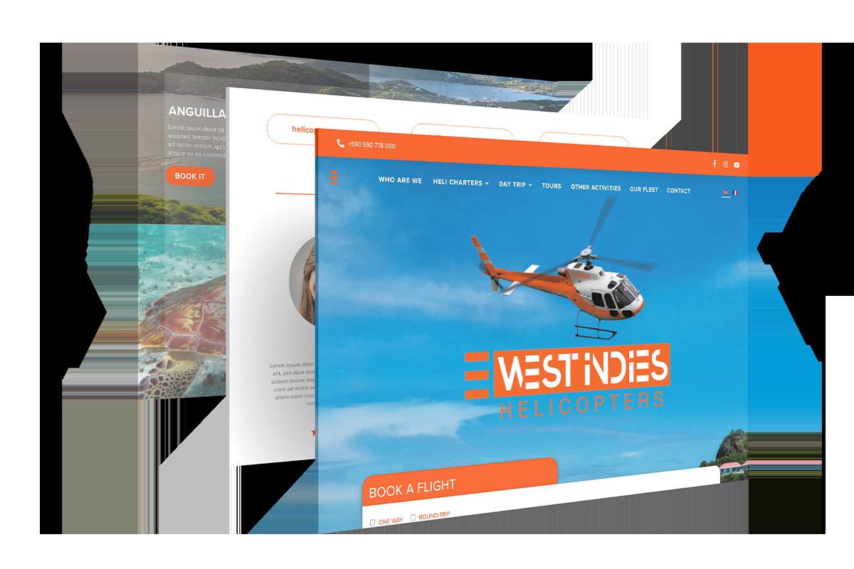 West Indies Un site développé par Bob&Co